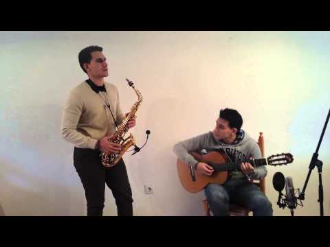 Hallelujah - Sax and Guitar Cover