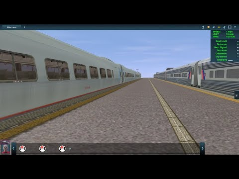 Trainz Railfanning Sneak Peek: NY Penn Station, Amtrak, NJ Transit