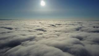 DJI MAVIC PRO JURMALA полет над облаками
