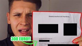 300€ Geldstrafe😰💰   Von Der Polizei Erwischt Worden🚓(Storytime)