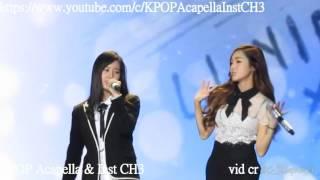 [Acapella] Jessica + Krystal - Butterfly