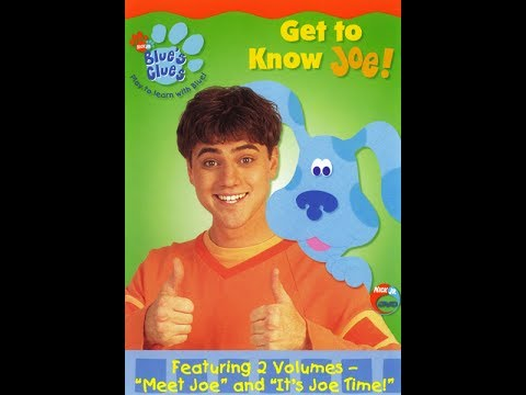 Download Blue's Clues:Get To Know Joe! 2002 DVD Menu Walkthrough HD Video