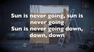 Martin Garrix - Sun Is Never Going Down (Lyrics)