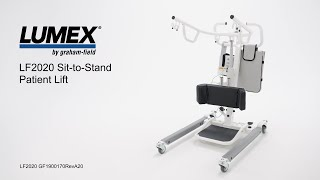 Lumex LF2020 Patient Lift Youtube Video Link