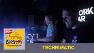 Technimatic & Visionobi - Live @ Drum&BassArena 2017 Album Launch