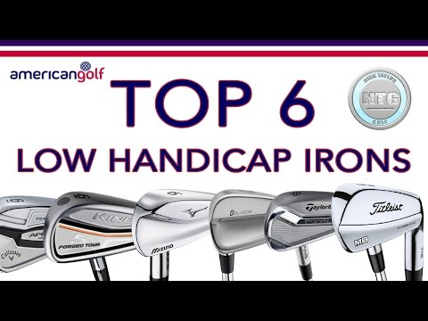 TOP 6 Low handicap irons in 2017 | Review | American Golf