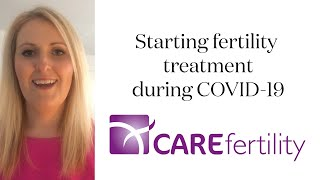 Starting fertility treatment with CARE Fertility during COVID-19