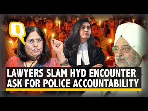'This Is Not Justice': Senior Lawyers React to Hyderabad Encounter | The Quint