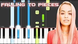 Rita Ora - Falling To Pieces  Piano Tutorial EASY (Phoenix) Piano Cover
