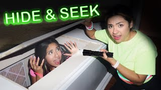 $1,000 EXTREME HIDE AND SEEK IN THE DARK CHALLENGE - Sanchez Squad and The Legit Family