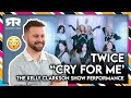 """TWICE (트와이스) - """"Cry For Me"""" The Kelly Clarkson Show Full Performance (Reaction)"""