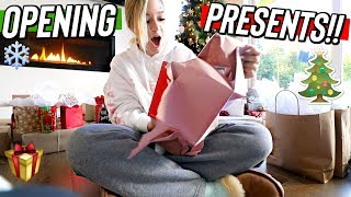opening christmas presents + huge birthday surprise! vlogmas day 25