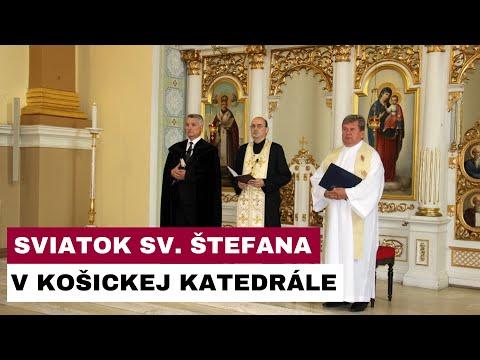 Sviatok sv. Štefana, prvého Uhorské kráľa, v košickej katedrále