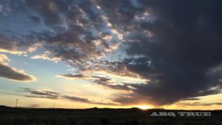 Albuquerque East to West Full Moon Rising - #ABQ TRUE