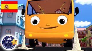 Canciones Infantiles | Las Ruedas Del Autobus P. 5 | Dibujos Animados | Little Baby Bum En Español