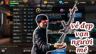 Tập Kích Bình Luận  AK47 Diablo Vẻ Đẹp Chết Người  Loc Bignose ✔