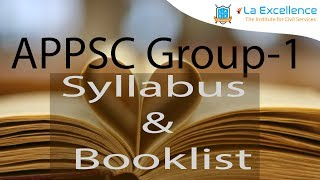 APPSC Group1 Booklist &Syllabus | Laqshya