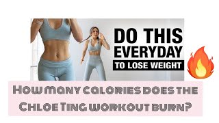 How Many Calories Does The Chloe Ting Workout Burn?