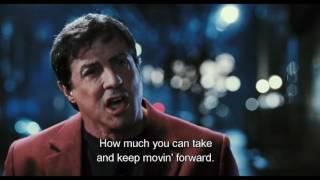 Rocky Balboa inspirational speech (Full scene)