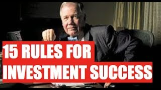 JIM ROGERS 15 RULES FOR INVESTING SUCCESS - MUST WATCH FOR EVERY INVESTOR AND TRADER