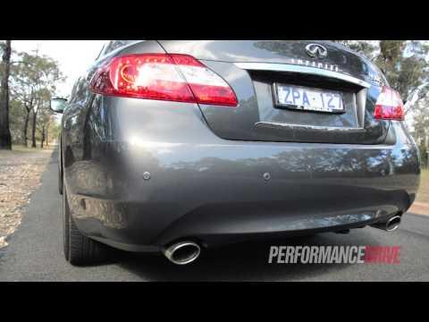 2013 Infiniti M30d S Premium engine sound and 0-100km/h