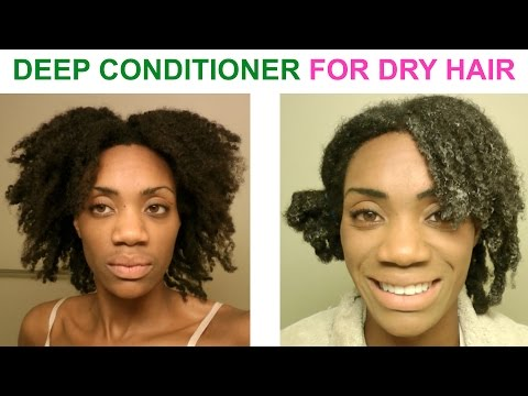Video DIY - Deep Conditioning Treatment For Dry Damaged Hair - alopeciafreewithjass