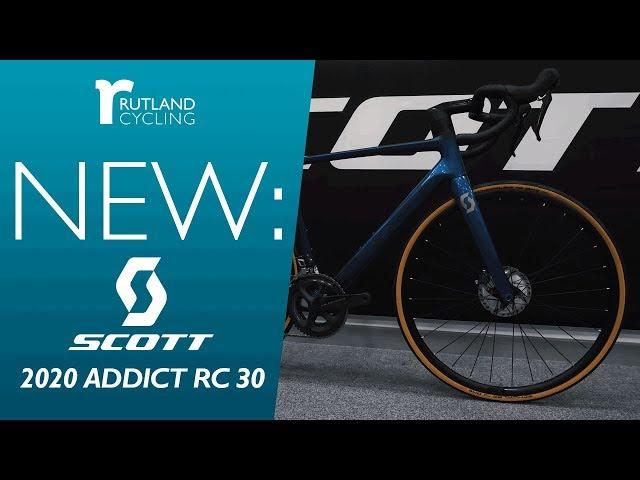 Видео Велосипед Scott Addict RC 30 (TW) yellow/black