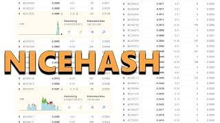 NiceHash - How to Buy Hash Power