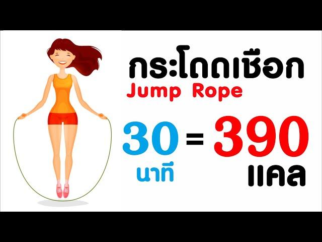 3เหตุผลที่ควรเล่นกระโดดเชือก ลดพุง กระชับสัดส่วน เพิ่มความสูง (Jump Rope)
