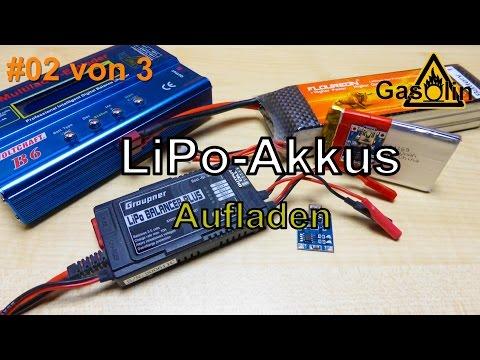 #02 von 3 LiPo-Akkus - Aufladen [German/Deutsch]