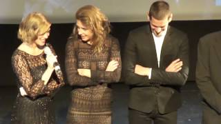 Was the relationship on screen real? - clip from Blue is the Warmest Color Q&A - Toronto film fest