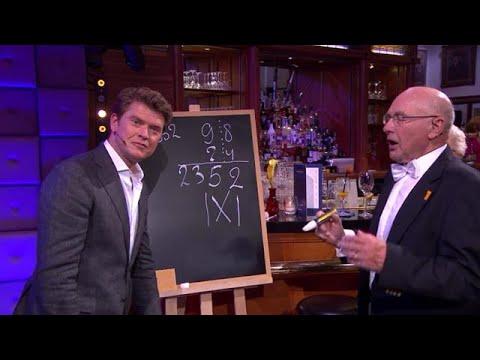 Juli 2017 Willem Bouman bij RTL Summer Night