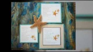 Tropical And Beach Wedding Invitations