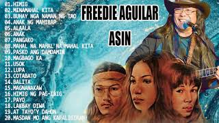 Asin, Freddie Aguilar Greatest Hits NON-STOP | Best Classic Relaxing Love Songs Of All Time