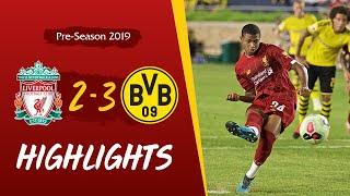 Liverpool vs Borussia Dortmund | Wilson & Brewster score in Notre Dame defeat