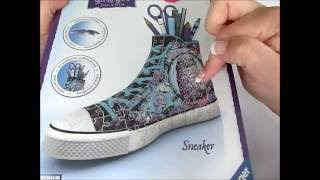 3D Puzzle Sneaker - Ravensburger - Sweetly Angel