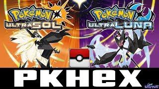 Tutorial PkHex (Pokesav) Para  Pokemon UltraSun UltraMoon Edita Tus Partidas Y Pokemon