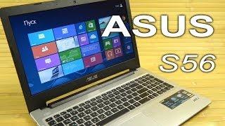 Видеообзор ноутбука Asus S56