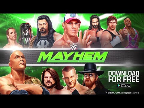 WWE Mayhem video