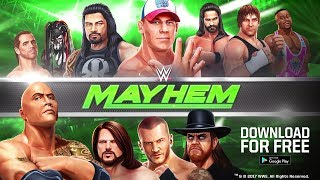 WWE Mayhem Mobile Game Now Available for Download on iOS & Android - All Details & Trailer