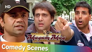 BHAGAM BHAG | Best of Comedy Scenes Compilation of Superhit Movie | Rajpal Yadav - Akshay Kumar