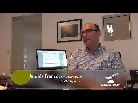 Entrevista a Andrés Franco - Representante de UNICEF Argentina