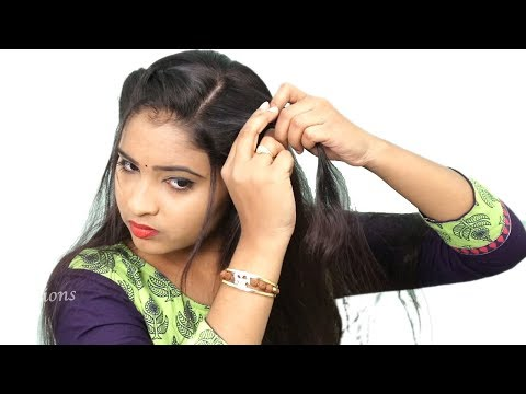 3 Quick & Easy Self Hairstyles for girls | 2 Minute Hairstyles | Cute Self hairstyles #hairstyles