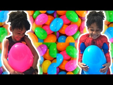 EASTER EGGS Surprise Toys game!
