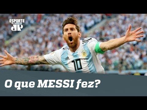689cef53cb O que MESSI fez em Argentina 2 x 1 Nigéria