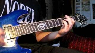 Anthrax - Intro to Reality & Belly of the Beast guitar cover