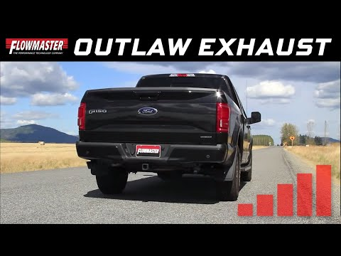2015-19 Ford F150 5.0L - Outlaw Cat-back Exhaust System 817726