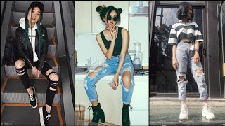 Latest And Trendy Edgy Outfits For Girls