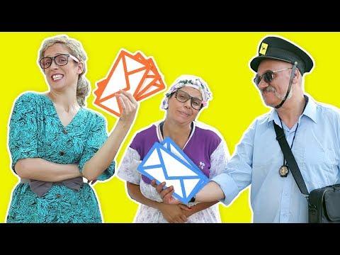 فوزي موزي وتوتي – التيتا فوزية وساعي البريد – Teta Foziya and the mail