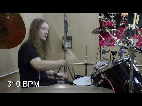 How Fast Can I Play Drums? - Hands (300+ BPM) Mp3